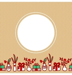 hand drawn background vector image