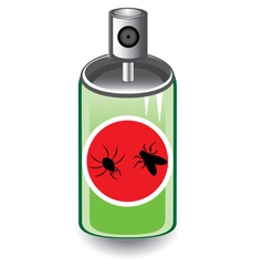 insect spray vector image