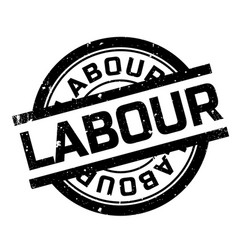Labour rubber stamp vector
