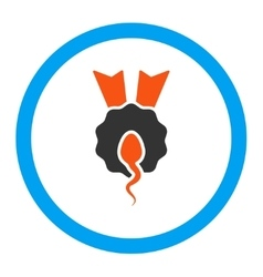 Sperm Winner Rounded Icon vector image