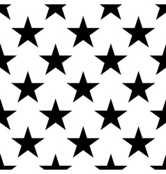 Stars seamless pattern big vector image vector image