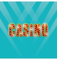 Casino game icon design vector