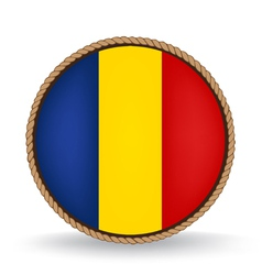 Romania seal vector