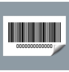 System bar code id product vector