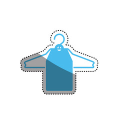 fashion hanger symbol vector image