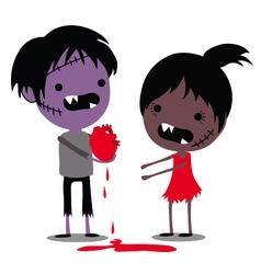 Zombie Love vector image