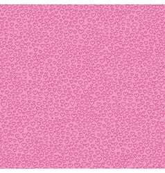 Valentine seamless pattern with pink hearts vector