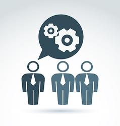 Gears - enterprise system vector