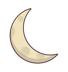 moon icon image vector image vector image