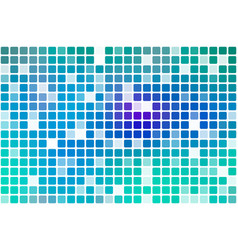 Turquoise blue purple occasional opacity mosaic vector
