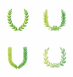 Laurels clipart free vector