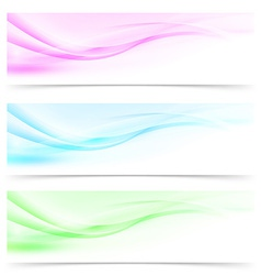 Web modern abstract swoosh line web header vector