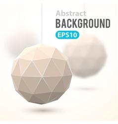 Abstract geometric background template vector image
