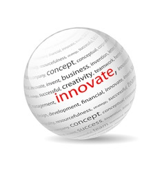 innovate vector image