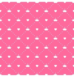 Princess seamless pattern background vector