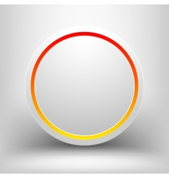 Red with yellow frame vector image vector image