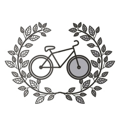 Isolated bike design vector
