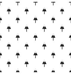Trowel pattern simple style vector