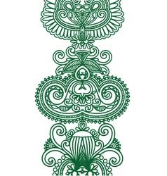 Asian Ethnic Ornament vector image