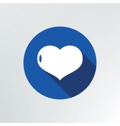 heart icon vector image vector image