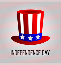 Independence day 4 th july happy independence day vector