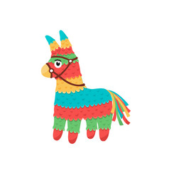 Mexican pinata isolated vector