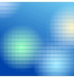 blue lite tiles background vector image