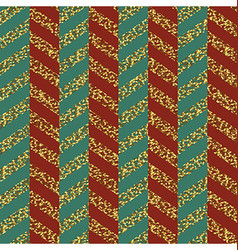 Christmas seamless chevron pattern red green and vector