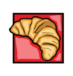 croissant vector image vector image