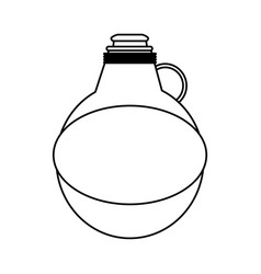 Water canteen icon image vector