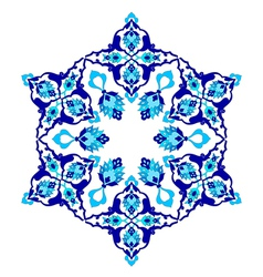 Artistic ottoman pattern series seventy two vector