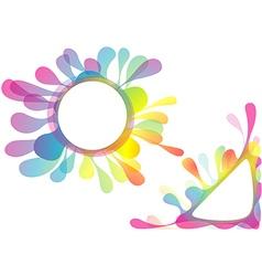 Watercolor Splotch Design vector image