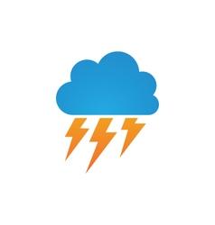 cloud Logo Template vector image vector image