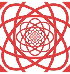 Eternal flower pattern background vector