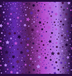 glowing star pattern seamless gradient background vector image vector image