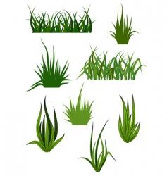 Grass patterns vector