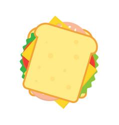 Sandwich icon vector