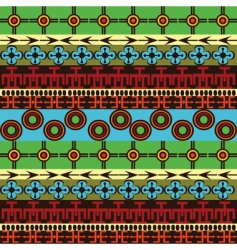 African traditional vector image