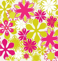 Summer floral 1 38 vector