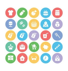 Shopping icons 11 vector