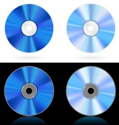 discs vector image vector image