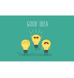 good idea vector image