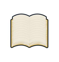 school open book reading icon vector image
