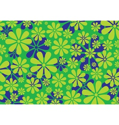 Daisy pattern background vector