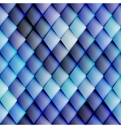Abstract seamless rhombus pattern vector image