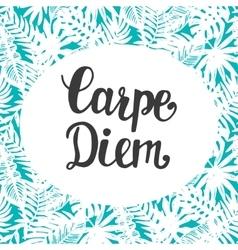 Carpe Diem vector image
