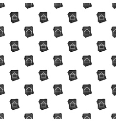 House project pattern simple style vector