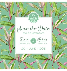 Invitation congratulation card - for wedding vector
