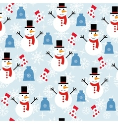 ornament winter vector image vector image