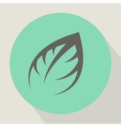 The plant icon vector